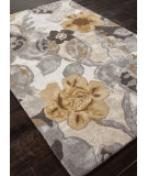 RugStudio presents Addison And Banks Hand Tufted Abr0088 White / Nickel Hand-Tufted, Best Quality Area Rug
