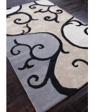 RugStudio presents Addison And Banks Hand Tufted Abr0089 Beige / Antique White Hand-Tufted, Best Quality Area Rug
