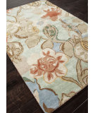 RugStudio presents Addison And Banks Hand Tufted Abr0092 Aqua Foam Hand-Tufted, Best Quality Area Rug