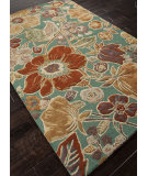 RugStudio presents Addison And Banks Hand Tufted Abr0093 Deep Sea Hand-Tufted, Best Quality Area Rug