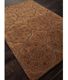 RugStudio presents Addison And Banks Hand Tufted Abr0094 Cocoa Brown Hand-Tufted, Best Quality Area Rug