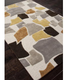RugStudio presents Addison And Banks Hand Tufted Abr0096 White/Multi Hand-Tufted, Best Quality Area Rug
