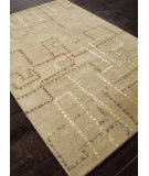 RugStudio presents Addison And Banks Hand Tufted Abr0098 Apple Green Hand-Tufted, Best Quality Area Rug