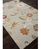 RugStudio presents Rugstudio Sample Sale 103302R Sea Blue Hand-Tufted, Good Quality Area Rug