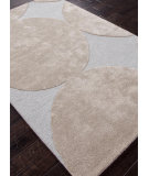 RugStudio presents Addison And Banks Hand Tufted Abr0110 Pastel Blue/Silver Hand-Tufted, Best Quality Area Rug