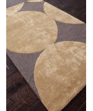 RugStudio presents Addison And Banks Hand Tufted Abr0113 Black Coffee / Brass Hand-Tufted, Best Quality Area Rug