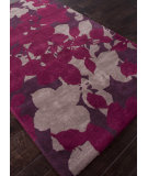 RugStudio presents Addison And Banks Hand Tufted Abr0115 Tulip Purple Hand-Tufted, Best Quality Area Rug