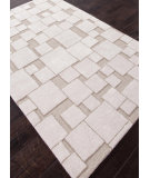 RugStudio presents Addison And Banks Hand Tufted Abr0116 Silver / White Hand-Tufted, Best Quality Area Rug
