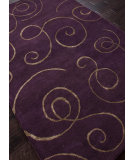 RugStudio presents Rugstudio Sample Sale 82098R Tulip Purple Hand-Tufted, Best Quality Area Rug
