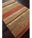 RugStudio presents Addison And Banks Hand Tufted Abr0121 Classic Rust / Bronze Green Hand-Tufted, Best Quality Area Rug