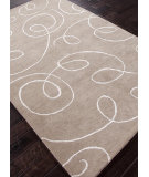 RugStudio presents Rugstudio Sample Sale 82106R Silver / Antique White Hand-Tufted, Best Quality Area Rug