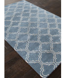 RugStudio presents Addison And Banks Hand Tufted Abr0825 Aegean Blue Hand-Tufted, Good Quality Area Rug
