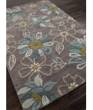 RugStudio presents Addison And Banks Hand Tufted Abr0131 Taupe Gray Hand-Tufted, Better Quality Area Rug