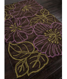 RugStudio presents Addison And Banks Hand Tufted Abr0140 Black Berry Hand-Tufted, Better Quality Area Rug