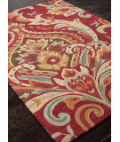 RugStudio presents Addison And Banks Hand Tufted Abr0148 Burgundy Hand-Tufted, Better Quality Area Rug