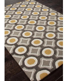 RugStudio presents Addison And Banks Hand Tufted Abr0150 Deep Charcoal/Amber Gold Hand-Tufted, Better Quality Area Rug