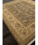 RugStudio presents Addison And Banks Hand Knotted Abr0842 Gray Brown Hand-Knotted, Good Quality Area Rug