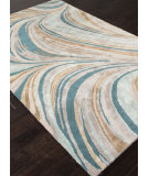 RugStudio presents Addison And Banks Hand Tufted Abr0846 Sea Mist Green Hand-Tufted, Good Quality Area Rug