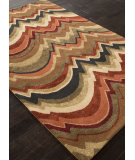 RugStudio presents Addison And Banks Hand Tufted Abr0850 Brown Hand-Tufted, Good Quality Area Rug