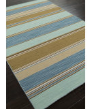 RugStudio presents Addison And Banks Flat Weave Abr0169 Aqua Sky Flat-Woven Area Rug
