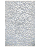 RugStudio presents Addison And Banks Triumph Cd-12 Antique White / Orchid Blue Flat-Woven Area Rug