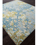 RugStudio presents Addison And Banks Hand Knotted Abr0868 Light Turquoise Hand-Knotted, Good Quality Area Rug