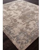 RugStudio presents Addison And Banks Hand Knotted Abr0869 Dark Taupe Hand-Knotted, Good Quality Area Rug