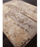 RugStudio presents Addison And Banks Hand Knotted Abr0871 Dark Taupe Hand-Knotted, Good Quality Area Rug