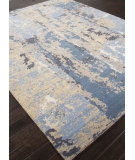 RugStudio presents Addison And Banks Hand Knotted Abr0873 Denim Blue Hand-Knotted, Good Quality Area Rug