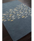 RugStudio presents Addison And Banks Hand Tufted Abr0175 Aegean Blue Hand-Tufted, Best Quality Area Rug