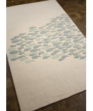 RugStudio presents Addison And Banks Hand Tufted Abr0176 White Hand-Tufted, Best Quality Area Rug
