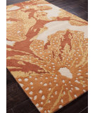 RugStudio presents Addison And Banks Hand Tufted Abr0185 Cloud White / Amber Glow Hand-Tufted, Best Quality Area Rug