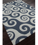 RugStudio presents Addison And Banks Hand Hooked Abr0193 Dark Blue Hand-Hooked Area Rug