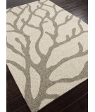 RugStudio presents Addison And Banks Hand Hooked Abr0197 White Hand-Hooked Area Rug