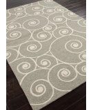 RugStudio presents Addison And Banks Hand Hooked Abr0198 Gray Hand-Hooked Area Rug