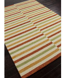 RugStudio presents Addison And Banks Hand Hooked Abr0203 Marigold Hand-Hooked Area Rug