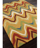 RugStudio presents Addison And Banks Hand Hooked Abr0206 Dark Sand Hand-Hooked Area Rug