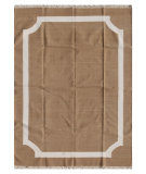 RugStudio presents Addison And Banks Triumph Cn-15 Light Sandstone / Bleached Linen Flat-Woven Area Rug