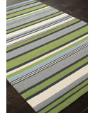 RugStudio presents Addison And Banks Hand Hooked Abr0233 Lime Green Hand-Hooked Area Rug