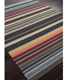 RugStudio presents Addison And Banks Hand Hooked Abr0235 Deep Charcoal Hand-Hooked Area Rug