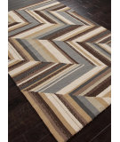 RugStudio presents Addison And Banks Hand Hooked Abr0236 Cocoa Brown Hand-Hooked Area Rug