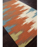 RugStudio presents Addison And Banks Hand Hooked Abr0238 Rust Hand-Hooked Area Rug