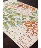 RugStudio presents Addison And Banks Hand Hooked Abr0239 Antique White Hand-Hooked Area Rug