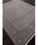 RugStudio presents Addison And Banks Hand Knotted Abr0931 Slate Blue Hand-Knotted, Good Quality Area Rug