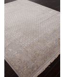 RugStudio presents Addison And Banks Hand Knotted Abr0932 Soft Gray Hand-Knotted, Good Quality Area Rug