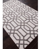 RugStudio presents Rugstudio Sample Sale 82166R Antique White / Liquorice Hand-Tufted, Best Quality Area Rug