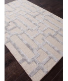 RugStudio presents Rugstudio Sample Sale 82168R Silver Gray/Medium Gray Hand-Tufted, Best Quality Area Rug