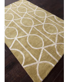 RugStudio presents Addison And Banks Hand Tufted Abr0273 Paradise Green / Cloud White Hand-Tufted, Best Quality Area Rug