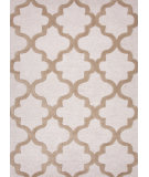 RugStudio presents Rugstudio Sample Sale 82175R White / Lead Gray Hand-Tufted, Best Quality Area Rug