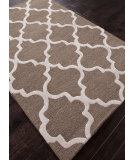 RugStudio presents Rugstudio Sample Sale 82176R Mushroom / Antique White Hand-Tufted, Best Quality Area Rug
